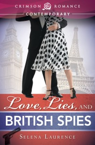 Love, Lies & British Spies Cover